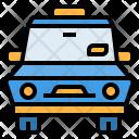 Taxi Car Transportation Icon
