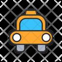 Taxi Cab Car Icon