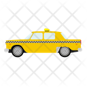 Taxi Cab Yellow Icon