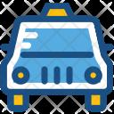Taxi Van Vehicle Icon