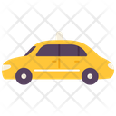 Transport Taxi Car Icon