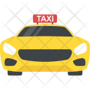 Taxi Transport Travelling Icon