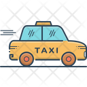 Taxi Cab Taxicab Icon