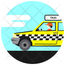 Taxi Driver Avatar Icon