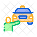 Human Hitch Hiking Online Icon
