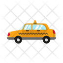 Taxi Transportation Delivery Icon