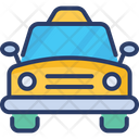 Car Taxi Transport Icon