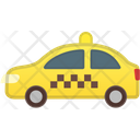 Taxi Cab Car Icon
