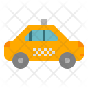 Taxi Car Transportation Icon