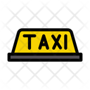 Taxi Cab Board Icon