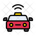 Taxi Cab Vehicle Icon
