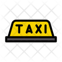 Taxi Board Sign Icon