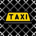 Taxi Board Sign Icon
