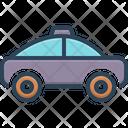 Taxi Street Travel Icon