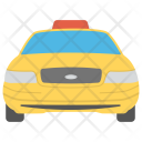 Taxi Car Road Icon