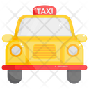 Taxi Cab Local Transport Icon