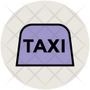 Taxi Cab Sign Icon