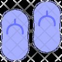 Sandal Footwear Flip Flops Icon