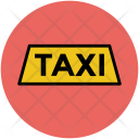 Taxi Sign Tag Icon