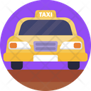 Public Transport Cab Transport Icon