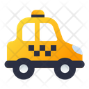 Taxi Transport Vehicle Icon