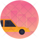 Cab Taxi Vehicle Icon