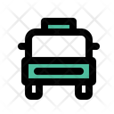 Taxi Transportation Vehicle Icon