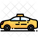 Taxi Cab Transport Icon