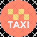 Taxi Cab Public Icon