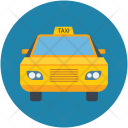 Taxi Cab Tour Icon