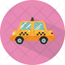 Taxi Transport Travel Icon