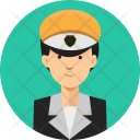 Taxi Driver People Icon