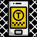 Taxi Application Cab Taxi Icon