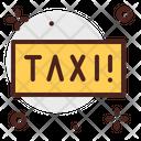 Taxi Board Icon