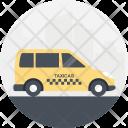 Taxi Service Cab Icon