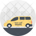 Transportation Services Cab Icon