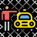 Taxi Call Service Icon