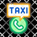 Service Call Taxi Icon