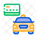 Taxi Credit Card Icon
