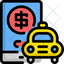 Taxi charge Icon