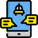 Taxi chat Icon