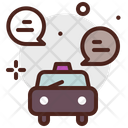 Conversations Cab Booking Taxi Booking Icon