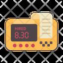 Taxi Digital Meter Icon