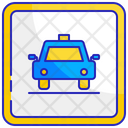 Taxi display Icon