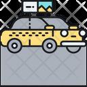 Taxi Display Car Taxi Icon