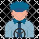 Taxidriver Driver Cabbie Icon