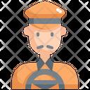 Taxi Driver Cab Icon