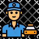 Taxi Driver Driver Avatar Icon