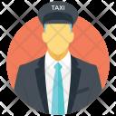 Taxi Driver Chauffeur Icon