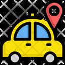 Taxi Gps Service Icon